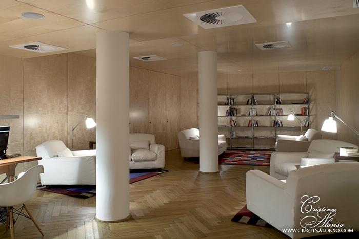 Hotel De las Letras, Madrid. Biblioteca.