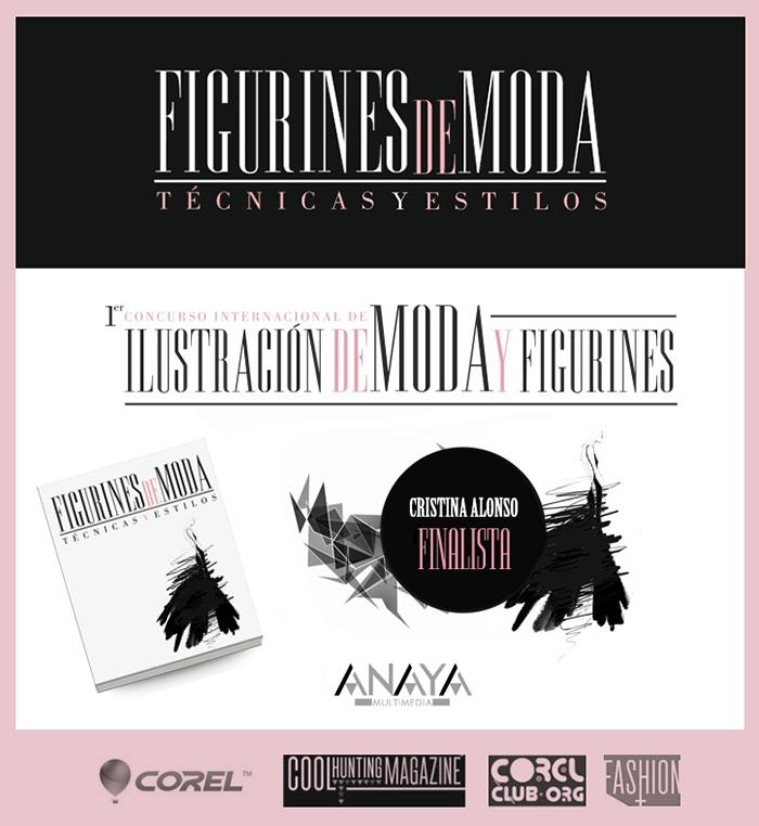 Cristina Alonso Finalista Concurso Internacional Ilustración de moda y figurines Anaya