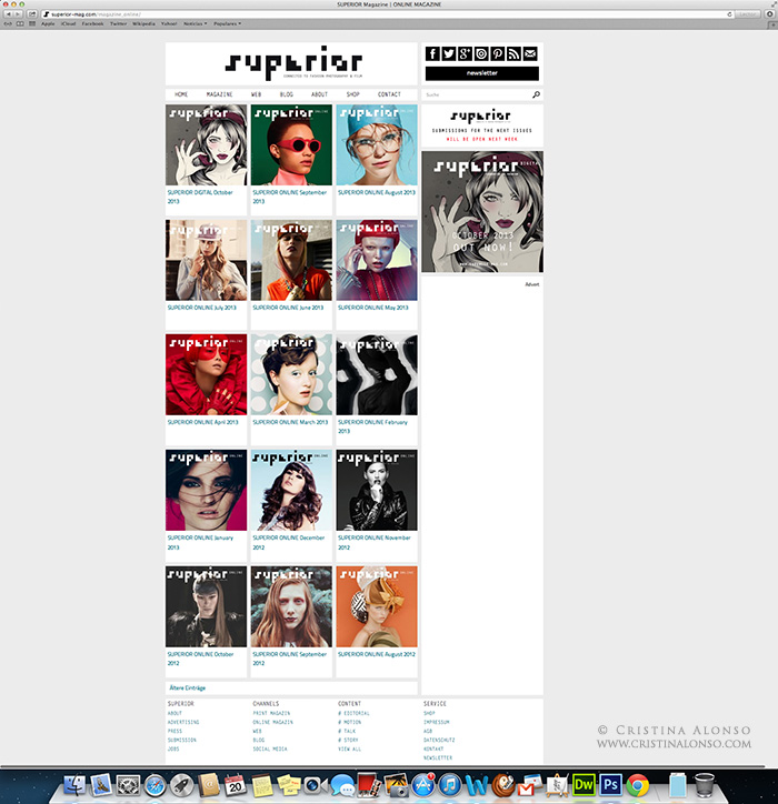 Superior Magazine Web