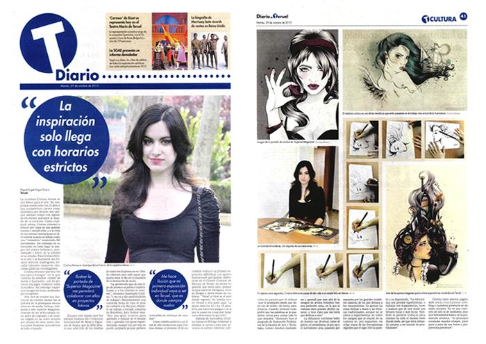 Cristina Alonso-Diario de Teruel 2013
