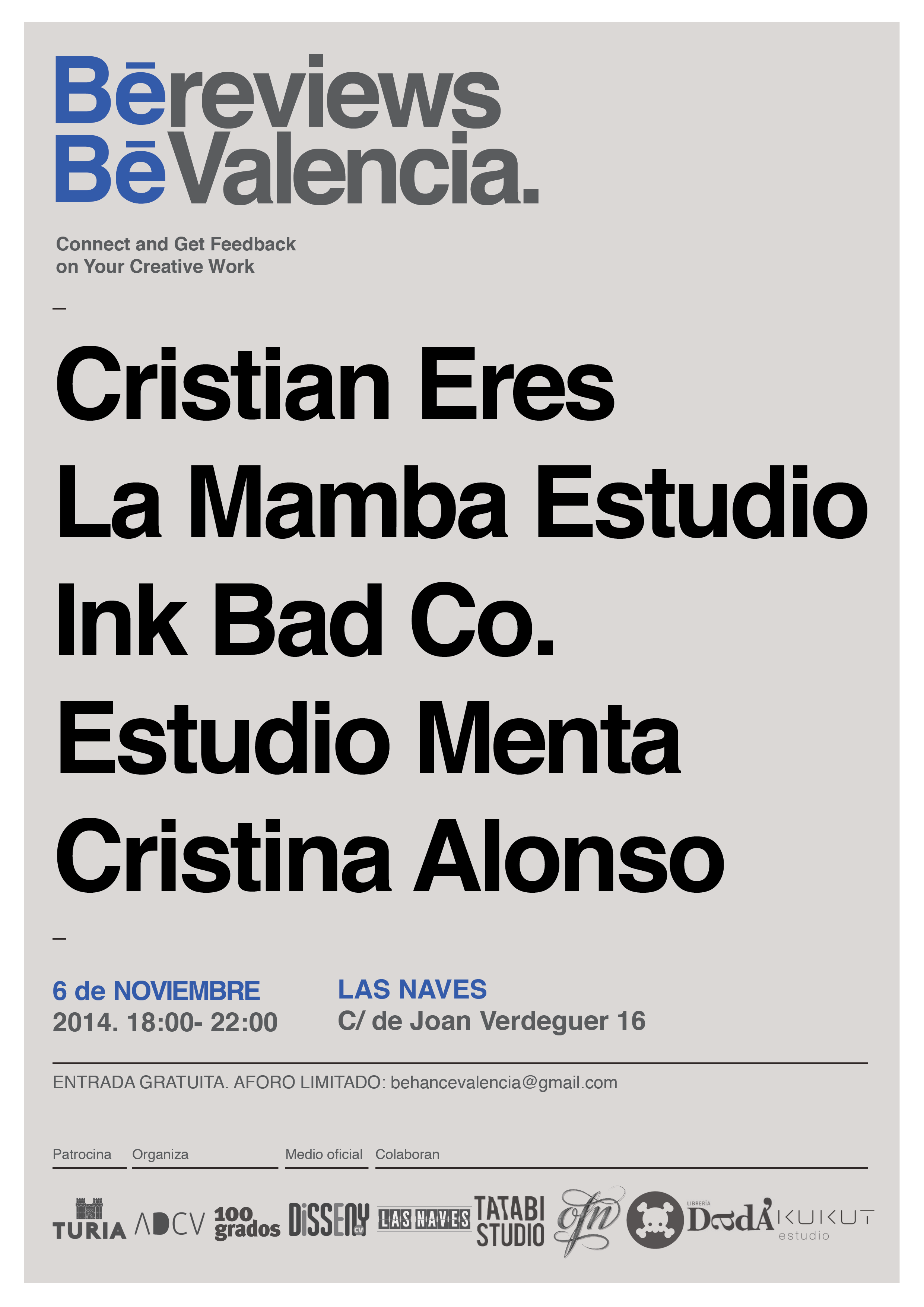 BEHANCE Portfolio Reviews Otoño 2014 -Cristina Alonso