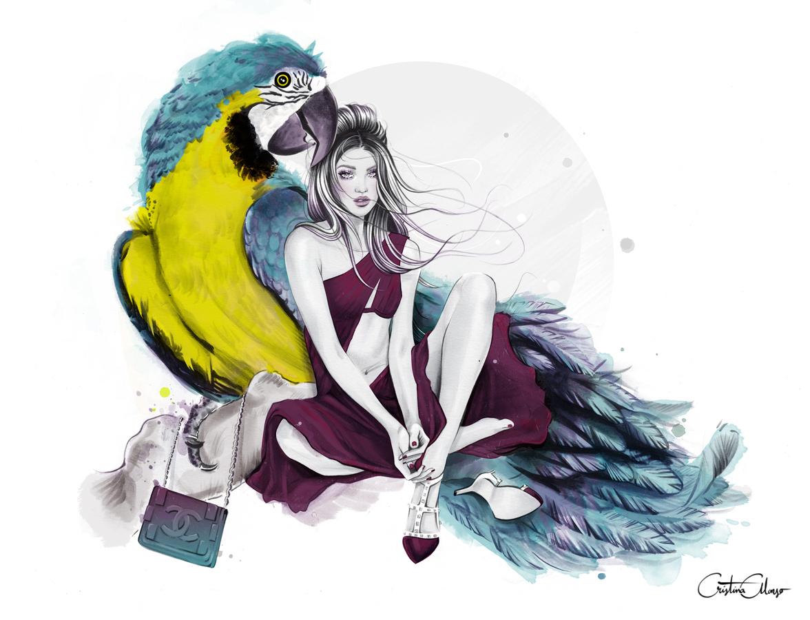 'Precious Parrot'