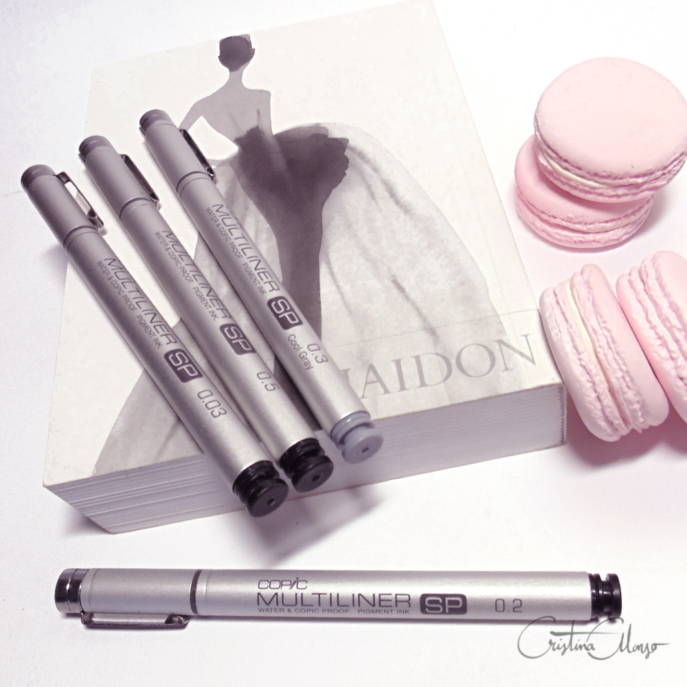 Copic Multiliner SP in Black & Grey