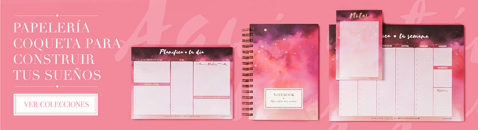 'Watercolor Wash' Stationery Collection