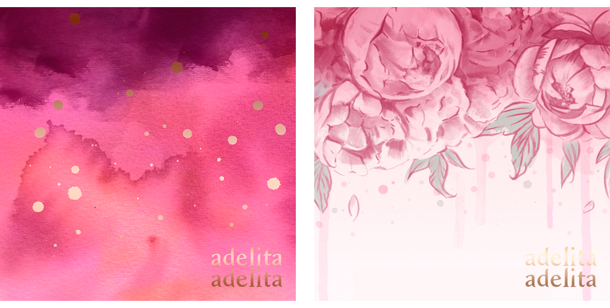 Illustrated designs for Adelita Adelita (Stationery)