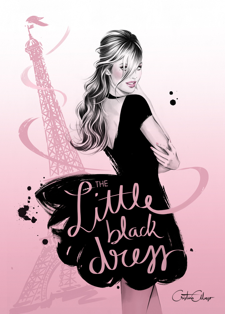 'The Little Black Dress' by Cristina Alonso