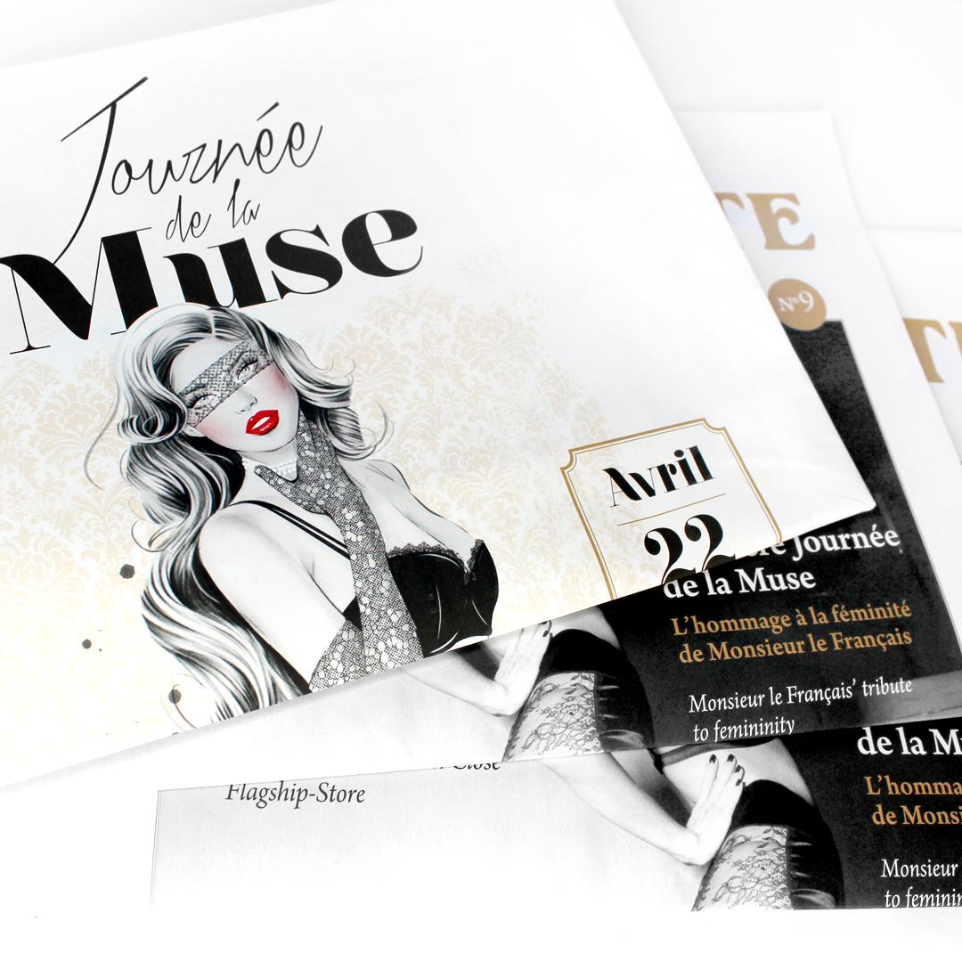 Cristina Alonso for Maison Close Journée de la Muse Campaign
