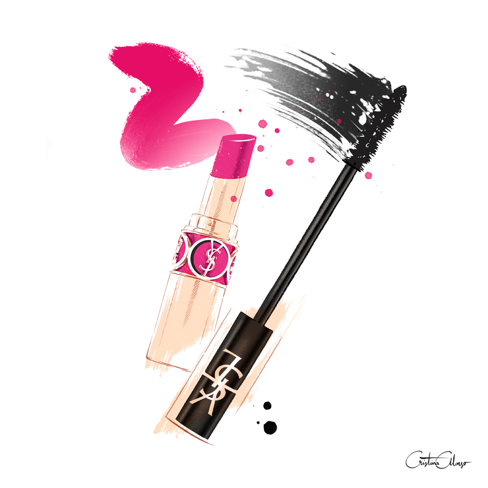 'YSL Beauty' by Cristina Alonso