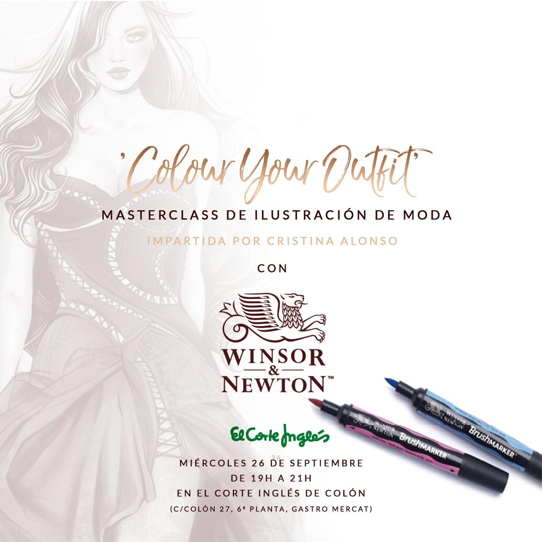 Masterclass Winsor & Newton con Cristina Alonso