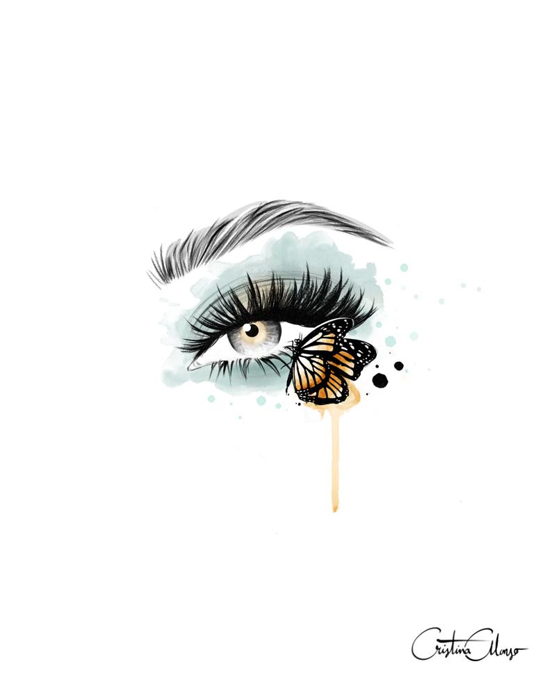 'Butterfly Eyes' by Cristina Alonso