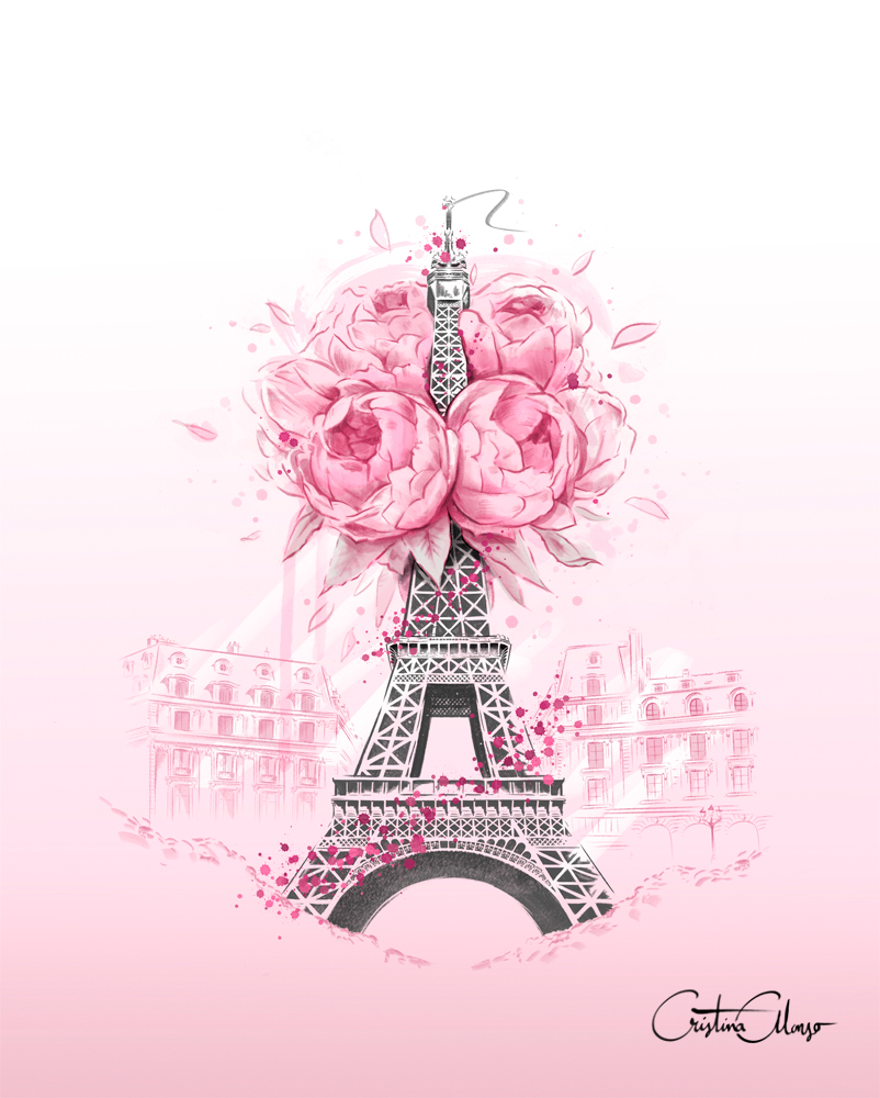 'Blooming Paris' by Cristina Alonso