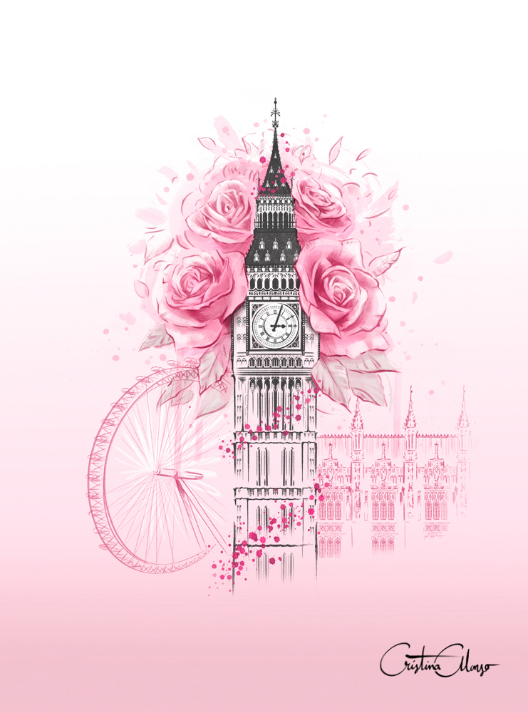 'London in Bloom' by Cristina Alonso
