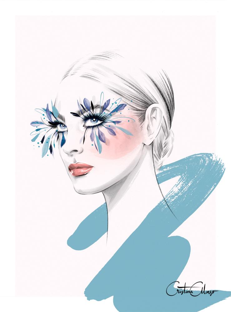 'Piuma Blu' by Cristina Alonso