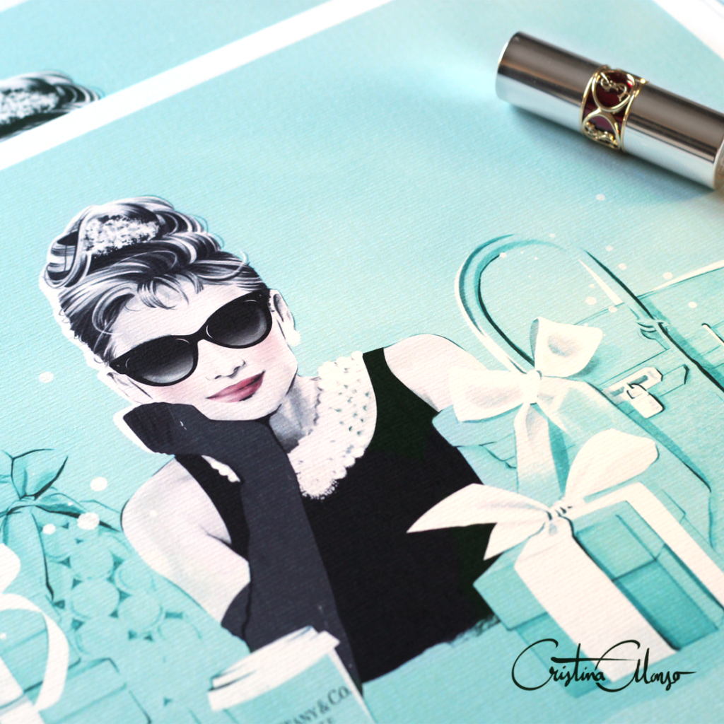 'Breakfast at Tiffany's' by Cristina Alonso